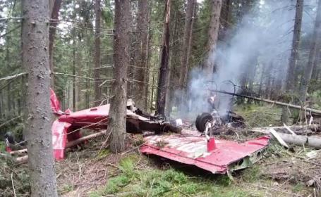 avion, harghita, aterizare, foc