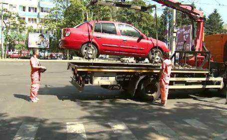 Primăria Capitalei vrea să ridice mașinile parcate neregulamentar. Tariful pentru recuperare