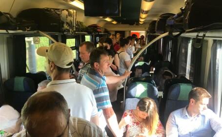 Trenul internațional București-Budapesta, supraaglomerat și fără aer condiționat - 4