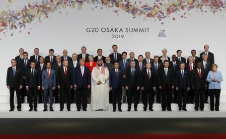 Summitul G20 a început vineri la Osaka