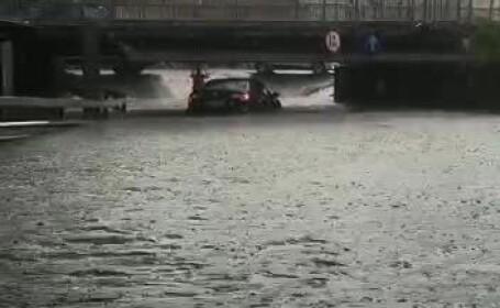 8 județe, sub cod galben de inundații. Când expiră avertizarea