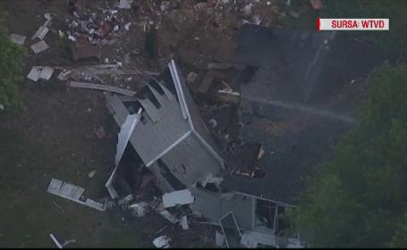 Avion prăbuşit peste o casă, în SUA