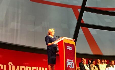 Dancila la congresul extraordinar al PSD