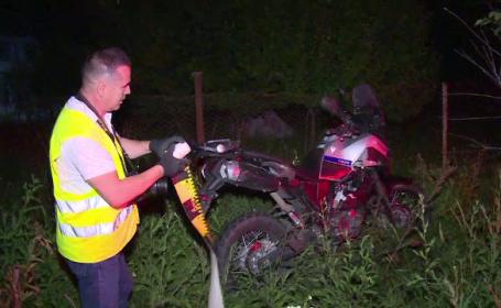 """Motociclist lovit de un șofer băut. Martor: """"L-a aruncat la 30 de metri, a zburat în aer\"""