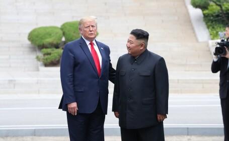 Kim Jong-un îl invită pe Trump, într-o scrisoare, la Phenian