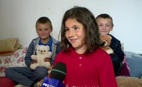 Părintele Dan Damaschin a împărțit daruri copiilor sărmani, de 1 iunie