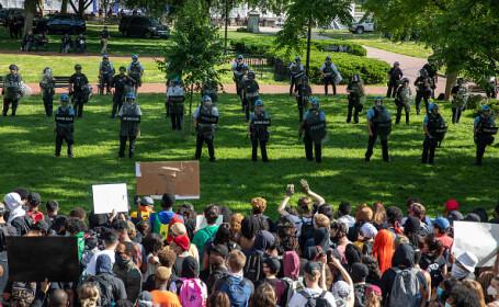 protest Casa Albă - 2