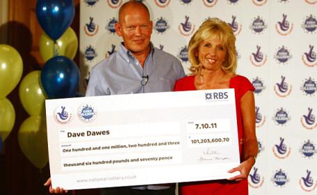 castigatori loterie David și Angela Dawes