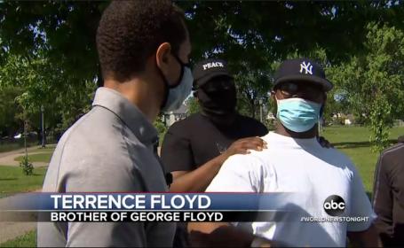 """Mesaj emoționant al fratelui lui George Floyd: """"De ce vă distrugeți comunitatea?"""""""