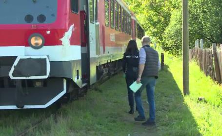 """Bărbat spulberat de tren. Detalii șocante: """"S-a aruncat din scurt, s-a băgat sub roată"""""""