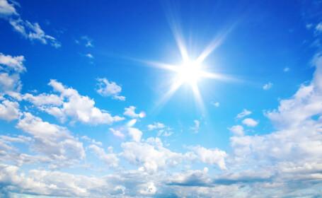 vreme frumoasă soare