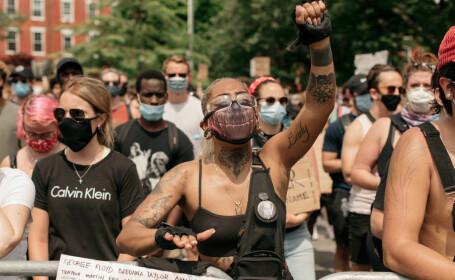 Proteste împotriva rasismului la New York - 1