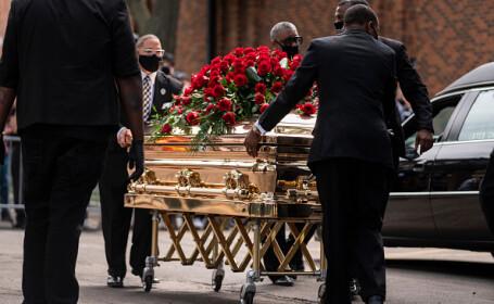 A doua ceremonie funerară în memoria lui George Floyd