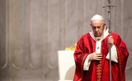 """Papa Francisc le cere italienilor să nu se grăbească să sărbătorească victoria împotriva coronavirusului: """"Aveți grijă!"""""""