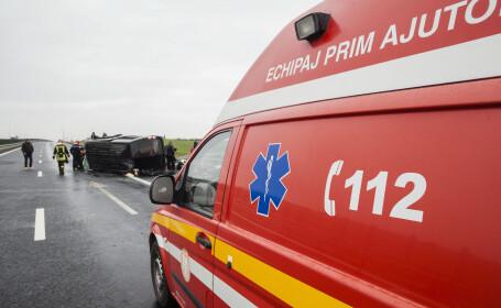 Accident cu 11 victime în Vâlcea. A fost declanșat Planul roșu de intervenție