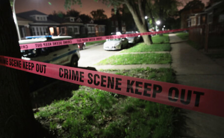 scena crimei politie chicago