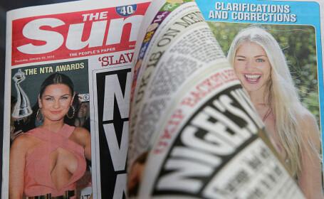 """""""Fata de la pagina 3"""" din The Sun împlinește 50 de ani. Ce vedete îi datorează cariera"""
