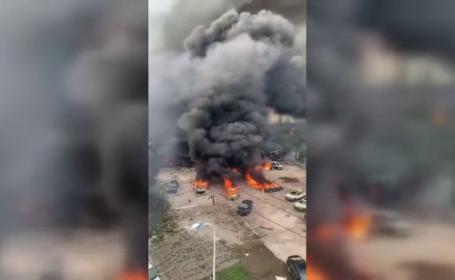 Explozie în China