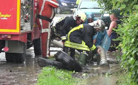 Cod roşu de inundaţii, în judeţele Bihor şi Cluj
