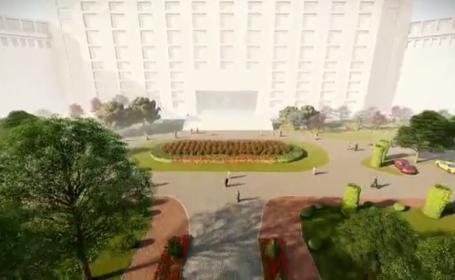 Proiect de 1 milion de lei, demarat de Senat: labirint cu estetică mistică și cartierul Uranus în realitate virtuală