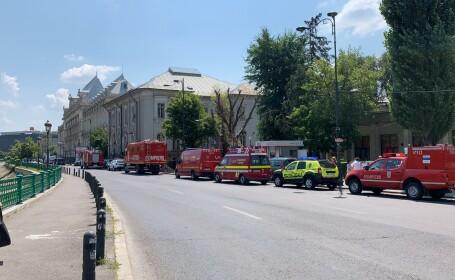 Alertă falsă cu bombă la Curtea de Apel București. Traficul rutier și pietonal din zonă a fost restricționat