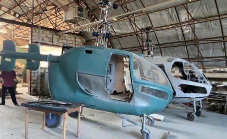 Elicoptere produse clandestin