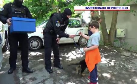 Cadoul primit de 1 iunie de un copil din Cluj. Chiar oamenii legii i l-au adus
