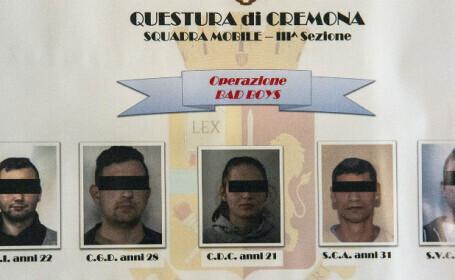 O familie din Italia a fost sechestrată şi terorizată de patru români: \