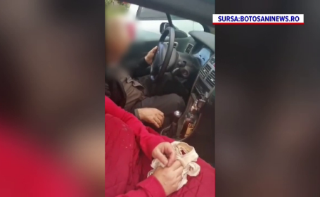 Un șofer beat și care mergea în zig zag a fost blocat în trafic și obligat să oprească