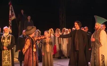 Tudor Vladimirescu a fost comemorat cu un spectacol inedit, la Târgu Jiu