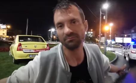 Video. Explicaţiile unui martor beat la un accident din Iaşi: \
