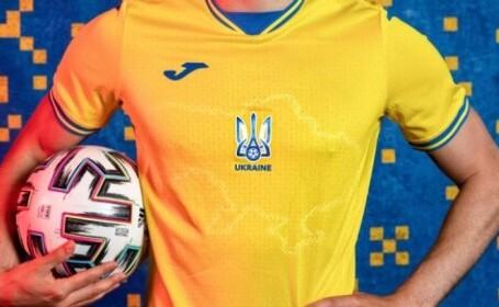 Soluția găsită de Ucraina după scandalul tricourilor de la EURO 2020. La ce compromis s-a ajuns