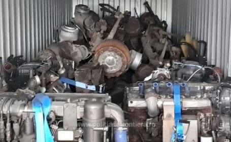 Un container cu 18 tone de deşeuri, sosit din Belgia, descoperit în Portul Constanţa Sud-Agigea