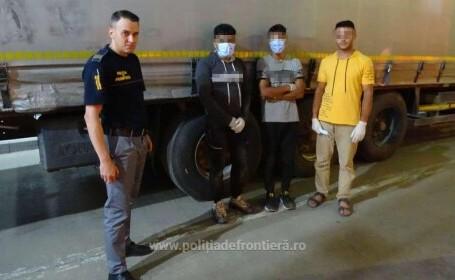 Cum au fost prinși trei tineri afgani care voiau să intre în România