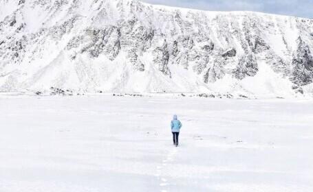 Femeia care a fugit de pandemie la Cercul Arctic: M-am speriat? Nu. Înveți să găsești energia în tine