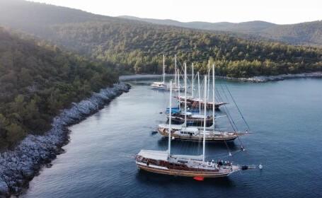 Vacanțele pe iaht în Turcia, la îndemâna turiștilor români