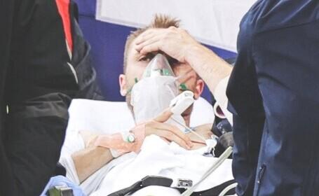 NEWS ALERT Federația daneză a dat publicității noi detalii despre starea lui Christian Eriksen: cum se simte jucătorul