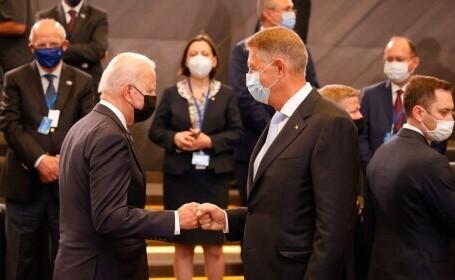 Klaus Iohannis l-a invitat pe Joe Biden în România: Doresc să continuăm discuţia din 2015