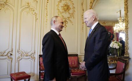Summitul de la Geneva: Cum a evoluat discuția dintre Biden și Putin. Deciziile luate în urma întâlnirii istorice
