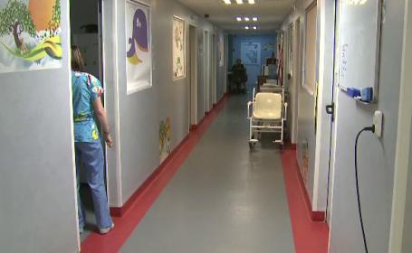 scoala in spital