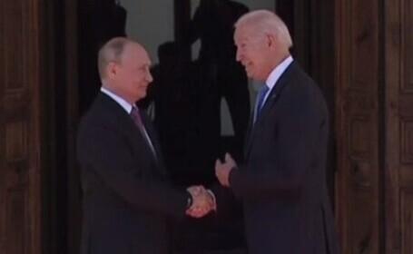 Ce nu și-au spus Biden și Putin, dar au transmis prin gesturi. Explicații de la experți în limbajul trupului