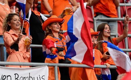 Țările de Jos 2 - 0 Austria, la EURO 2020. Calificare în optimi pentru Țările de Jos