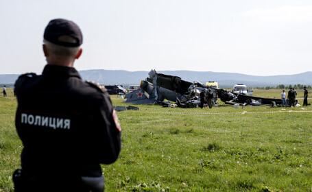 Avion prăbușit în sud-vestul Siberiei. Mai mulți parașutiști și-au pierdut viața