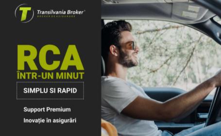 (P) RCA într-un minut prin noua platformă de emitere de la Transilvania Broker