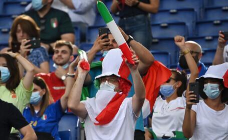 În direct pe PRO TV, PRO X și VOYO, românii au urmărit calificarea Italiei și Țării Galilor în următoarea etapă!