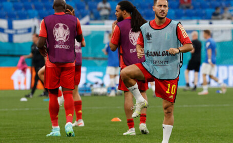 EURO 2020: Belgia a încheiat grupa cu un succes cu 2-0 împotriva Finlandei