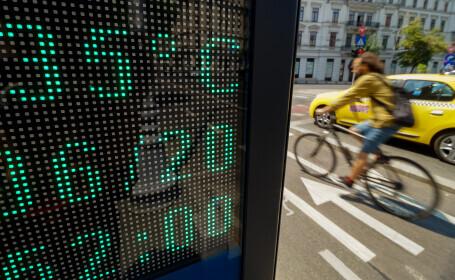 Caniculă în București, cu temperaturi de peste 30 de grade săptămâna aceasta. Ziua cu probabilitate maximă de vijelii