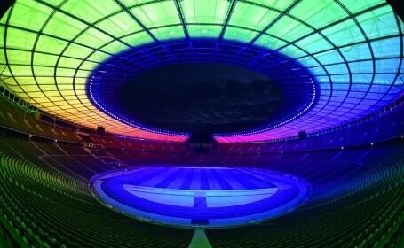 GALERIE FOTO. Germania a sfidat UEFA și Ungaria: a iluminat un stadion în culorile LGBT