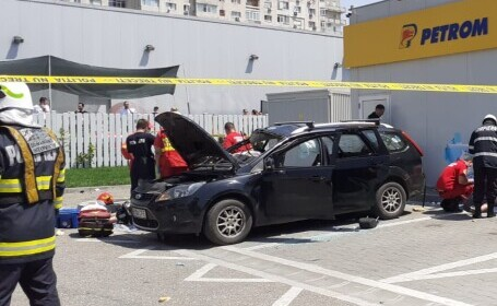 explozie, masina, Bucuresti