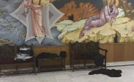 Un preot a fost arestat după ce a atacat cu acid șapte episcopi ai Bisericii ortodoxe din Grecia
